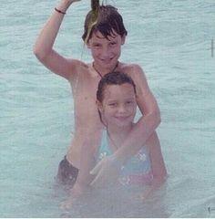 Shawn Mendes and his sister Aaliyah