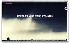 mooie sfeervolle website