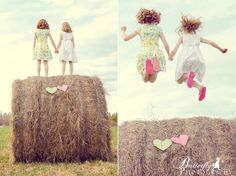 Best friends..... Or Sisters! Great idea for Texas Summer Fun