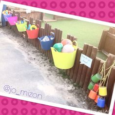 New tubs for outdoor PE type resources.