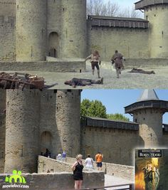 Robin Hood: Prince of Thieves (1991, Kevin Costner, Morgan Freeman): Carcassonne, France