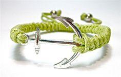 Unisex Anker Armband Charms anchor Armreif Schmuck von Geralin Gioielli auf DaWanda.com