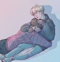 I ship Yoonkook, this is cute