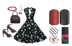 """""""Jamberry Nails - Rockabilly"""" by kspantonjamon on Polyvore featuring Iron Fist, Sourpuss and Honora"""