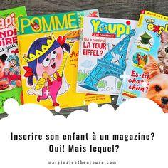 J'ai donc pris l'initiative de contacter Bayard Jeunesse afin de recevoir différents magazines visant les jeunes d'environ 4 à 8 ans afin de faire une petite étude comparative hihihi! Inscrire son enfant à un magazine? Oui!!! Et voici quelques idées pour vous aider à choisir!