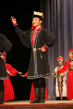 Kalmyk Folk Costume and Dance | Flickr - Photo Sharing!