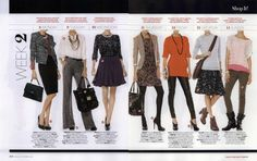28 Days of Amazing Outfits, InStyle Oct. 2010 (3 of 5)