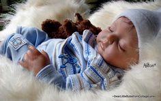 Reborn baby dolls by Cottage Lane Nursery