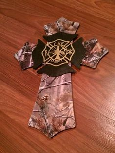 Camo Firefighter Cross. Check out that cool T-Shirt here: https://www.sunfrog.com/I-love-my-firefighter-Black-Ladies.html?53507                                                                                                                                                                                 More