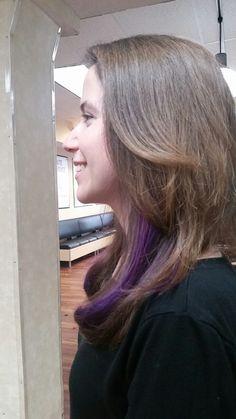 Long layers purple umbre  #Supercuts  101 SUMMER  STREET