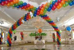 Balloon Arch for dance floor