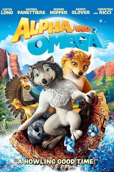 Alpha and Omega (Includes Digital Copy) (Blu-ray/DVD) (Widescreen) Omega Wolf, Lionsgate Movies, Angry Bear, Justin Long, Danny Glover, Blu Ray Collection, Two Wolves, Make Em Laugh, The Longest Journey