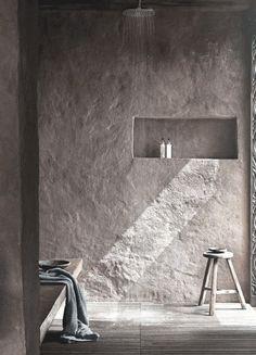 22 Wabi-Sabi Home Interior Design Ideas: Finding Beauty in Imperfection Home Interior, Bathroom Interior, Interior Architecture, Interior And Exterior, Wabi Sabi, Design Hotel, House Design, Casa Wabi, Casa Petra
