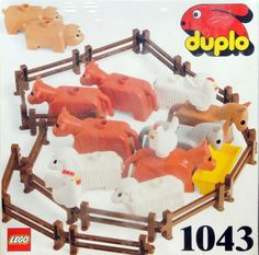 These were my Duplo-animals. Very different looking, that my son have this day..