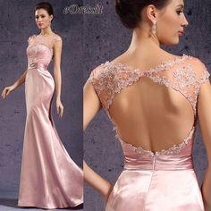 eDressit pink spitze Kleid