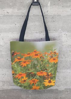 Tote Bag - Poppies Tote by VIDA VIDA bfy8tk