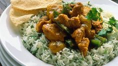 Fragrant Chicken Curry with Basmati Rice - RTE Food