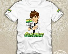Camiseta Personalizada Ben10