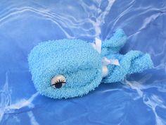 Whale Washcloth Birthday Party Baby Shower Favor Gift #BabyShowerBirthdayPartyThankyou