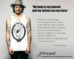 I love Johnny Depp quotes.