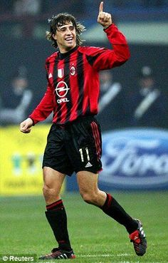 Hernán Jorge Crespo Ac Milan, Football Players, Chelsea, Legends, Italy, Club, Collection, Curly, Sport