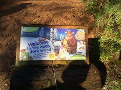 Gruffalo Gruffalo Trail, Dark Wood, Cover, Art, Art Background, Dark Hardwood, Kunst, Gcse Art, Blanket