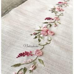 Wonderful Ribbon Embroidery Flowers by Hand Ideas. Enchanting Ribbon Embroidery Flowers by Hand Ideas. Brazilian Embroidery Stitches, Hand Embroidery Stitches, Silk Ribbon Embroidery, Hand Embroidery Designs, Vintage Embroidery, Embroidery Kits, Cross Stitch Embroidery, Embroidery Needles, Embroidery Supplies