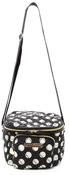 Betsey Johnson Tie The Knot Polka Dot Lunch Tote