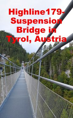 What to expect, how to get there and is it accessable with wheel chairs and strollers? Here you´ll find the answers! #travelblog #travelblogger #gabrielaaufreisen #highline179 #reutte #austria #tyrol #suspensionbridge #castleehrenberg #fortclaudia Road Trip Europe, Europe Travel Guide, Travel Guides, Travel Destinations, Visit Austria, Austria Travel, Germany Travel, Adventure Activities, Travel Activities