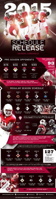 Infographic: 2015 Season Schedule Release