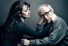 Penelope Cruz and Woody Allen by Annie Liebovitz