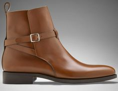 MENS HANDMADE LEATHER BOOT, MEN LEATHER BOOT, BROWN COLOR LEATHER BOOT
