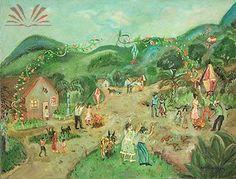 Título :Festa Caipira Artista :Annita Catarina Malfatti - Anita Malfatti - Anita Malfati Dim. :50 x 66 cm