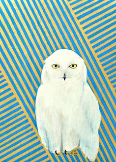 'Chester the Snowy Owl' by Ashley White Jacobsen