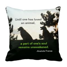 Golden Retriever Spiritual Pet Quote Throw Pillow by #AugieDoggyStore. Sold to a customer in Lexington, KY