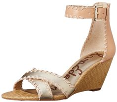 Sam Edelman Women's Silvia Wedge Sandal -- New and awesome product awaits you, Read it now  : Wedge sandals