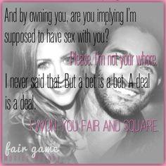 """""""Fair Game"""", Monica Murphy"""