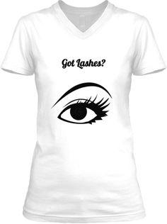 Youniques 3D Fiber Lash Mascara V-Neck Shirt