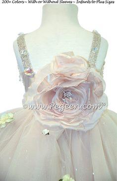 5a05c8efd4 13 Desirable Ivory Flower Girl Dresses   Weddings by Pegeen.com ...