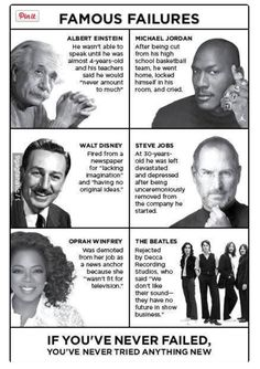 Failure can be a new beginning.
