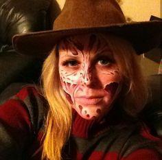 A Nightmare On Elm Street Freddy Krueger Costume with Mask ...