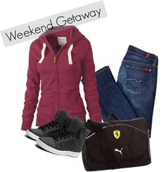 """Weekend Wear"" by cynnastylz on Polyvore"