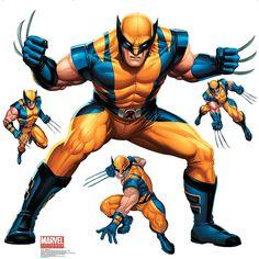 Wolverine - Marvel 4 ft. x 4 ft. Wall Jammer™ - OrientalTrading.com