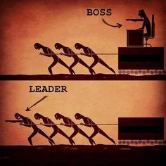 """""""A leader is one who knows the way, goes the way, and shows the way.""""- John C. Maxwell There is a HUGE difference between being the boss and becoming the LEADER. Bosses are many. Leaders are few. ..."""