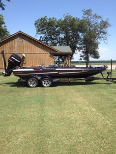 Pontoon Boats and Campers. Your Bass Boat Dealer! Bass Boat Ideas, Bass Fishing Boats, Boat Dealer, Boat Projects, Canoes, Places To Visit, Kitty, Cabin, House Styles