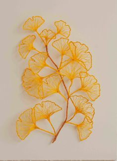 Australian artist Meredith Woolnough creates airy sculptures that are just exquisite.   After machine-stitching her drawings with...