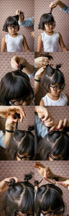 Easy Hairstyles for girls to wear to school | Stuck on You