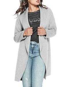 GUESS Lydia Wool-Blend Coat