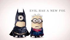 Evil has a new foe #minions!!! <3