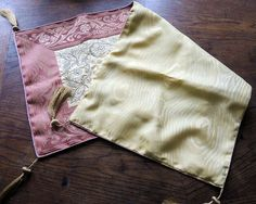 Damast Table Runner  Embrodery 35 x 15.7  inch by BringTheNoise